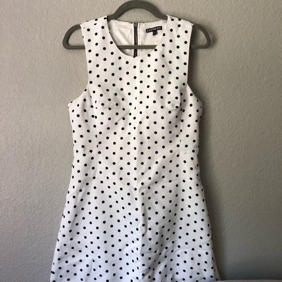 Express Dresses & Skirts - Polka Dot Express dress